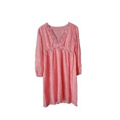 Midi Dress MANOUSH Pink, fuchsia, light pink