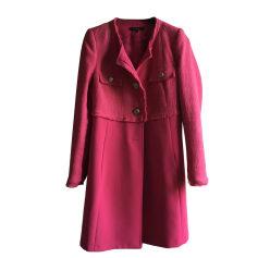 Coat TARA JARMON Pink, fuchsia, light pink