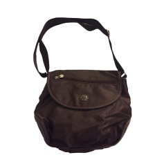 Non-Leather Shoulder Bag LANCEL Brown