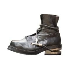 Boots DIRK BIKKEMBERGS Black