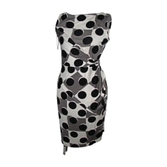 Mini Dress DIANE VON FURSTENBERG Gray, charcoal