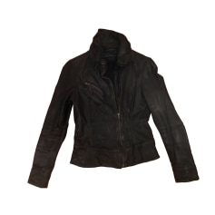 Lederjacke ALL SAINTS Braun