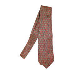 Krawatte HERMÈS Rot, bordeauxrot