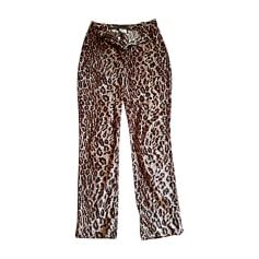Pantalon droit DOLCE & GABBANA panthere