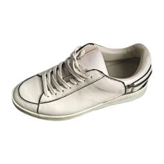 Sneakers BURBERRY White, off-white, ecru