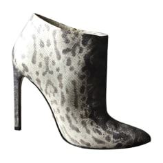 High Heel Ankle Boots GUCCI Animal prints