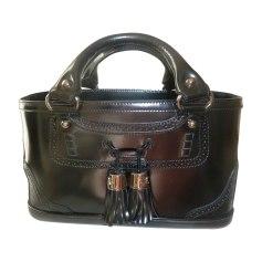 Leather Handbag CÉLINE Boogie Black