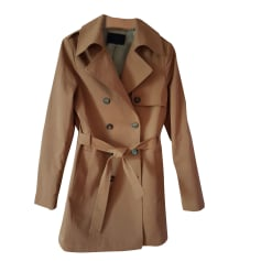 Imperméable, trench IKKS Beige, camel