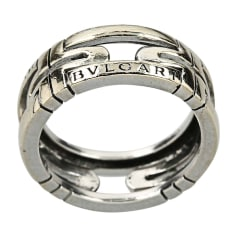 Ring BULGARI Or Blanc