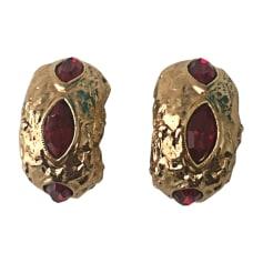 Ohrringe YVES SAINT LAURENT Gold, Bronze, Kupfer