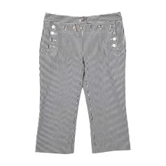 Straight Leg Pants DOLCE & GABBANA White, off-white, ecru