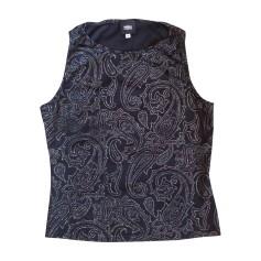 Top, tee-shirt VERSACE Noir