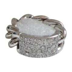 Ring DIOR Silberfarben, stahlfarben