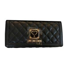 Wallet MOSCHINO Black