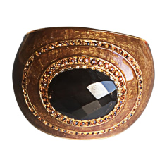 Bracelet ROBERTO CAVALLI Golden, bronze, copper