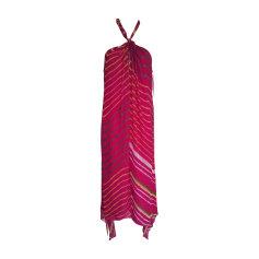Maxi-Kleid RALPH LAUREN Pink,  altrosa