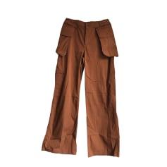 Wide Leg Pants IKKS Green