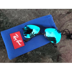 Sunglasses RAY-BAN Blue, navy, turquoise