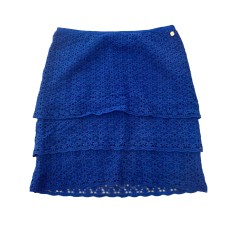 Mini Skirt IKKS Blue, navy, turquoise