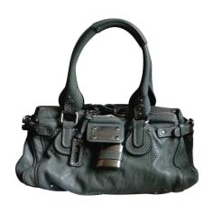 Leather Handbag CHLOÉ Gray, charcoal