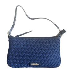 Sac pochette en tissu CERRUTI 1881 Bleu, bleu marine, bleu turquoise