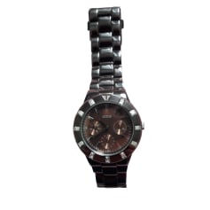 Wrist Watch GUESS Brown