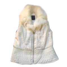 Jacket GUESS White, off-white, ecru