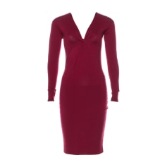 Midi Dress GUCCI Red, burgundy