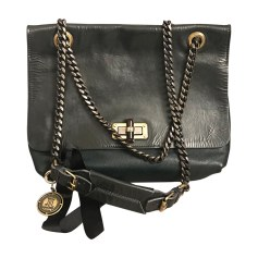 Leather Handbag LANVIN Green