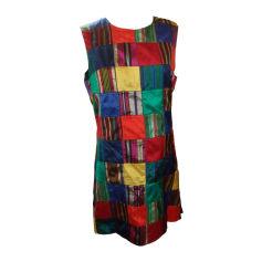Robe courte AGNÈS B Patchwork multicolore+