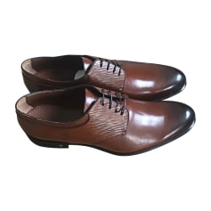 Lace Up Shoes LOUIS VUITTON Brown