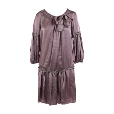 Midi Dress HUGO BOSS Gray, charcoal