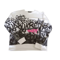 Sweatshirt DSQUARED2 White, off-white, ecru