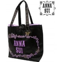 Sac en bandoulière en tissu ANNA SUI Violet, mauve, lavande