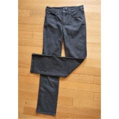 Jeans droit ARMANI Gris, anthracite