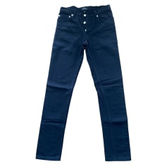 Pantalon droit A.P.C. Noir