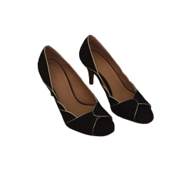 Peep-Toe Pumps SÉZANE Black