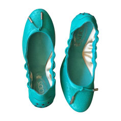 Ballet Flats TOD'S Blue, navy, turquoise