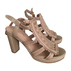 Heeled Sandals SEE BY CHLOE Nude