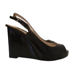 Sandales compensées MICHAEL KORS Noir