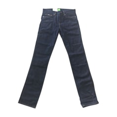 Straight Leg Jeans HUGO BOSS Blue, navy, turquoise