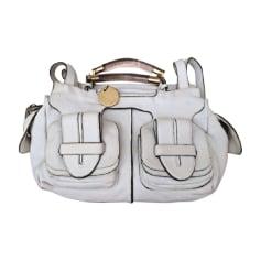 Leather Handbag CHLOÉ White, off-white, ecru