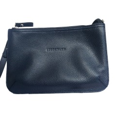 Leather Shoulder Bag LONGCHAMP Blue, navy, turquoise