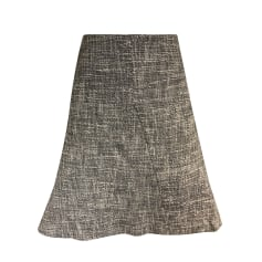 Mini Skirt GERARD DAREL Gray, charcoal