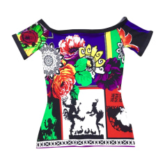 Top, t-shirt VERSACE Multicolore