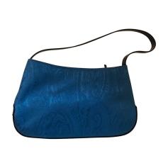 Sac à main en tissu ETRO Bleu, bleu marine, bleu turquoise