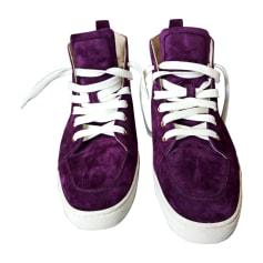Sneakers CHRISTIAN LOUBOUTIN Violett, malvenfarben, lavendelfarben