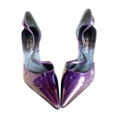 Wedges YVES SAINT LAURENT Purple, mauve, lavender