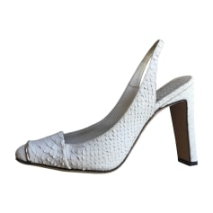 Peep-Toe Pumps DIOR White, off-white, ecru