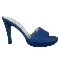 Ciabatte FREE LANCE Blu, blu navy, turchese